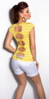 Top Style Fashion GRACE Couleur Jaune