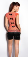 Top Style Fashion MAHE Couleur Corail