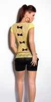 Top Style Fashion MAHE Couleur Jaune