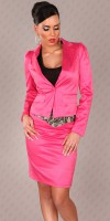 Blazer style fashion SAFIA couleur Fuchsia